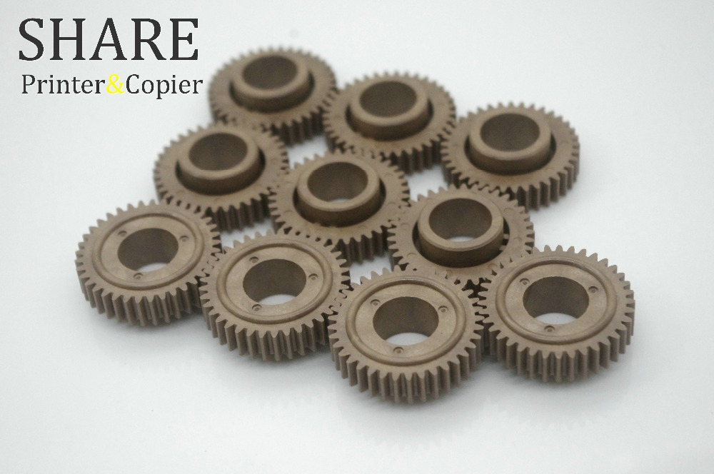 10 X  JC66-00564A origianl new Upper fuser roller Gear 37T  for samsung ML1510 ML1710 ML1610 SCX4200 SCX4216F SCX4300 heat upper pressure roller for samsung scx 4100 scx 4200 scx 4300 scx 4100 4300 4200upper fuser roller on sale