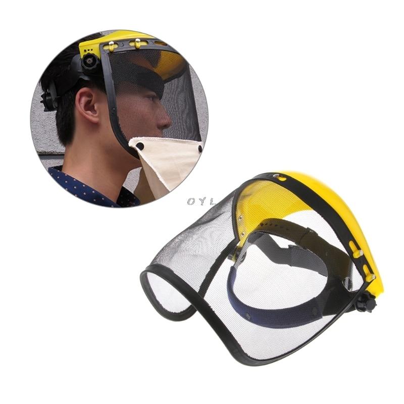 Sicherheit & Schutz Schutzhelm Gesicht Maske Industrie Arbeit Schutzhülle Schild Strahlen Haube Sand Schleif Grit