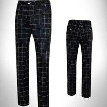 Pant Golf-Trousers PGM Summer Male Man Men Lattice Match Thin Comfortable Pnats Men's