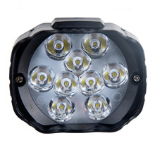 Motorcycle Automotive LED Spotlight Electric Vehicle General Aided Fog Lamp Headlamp Working