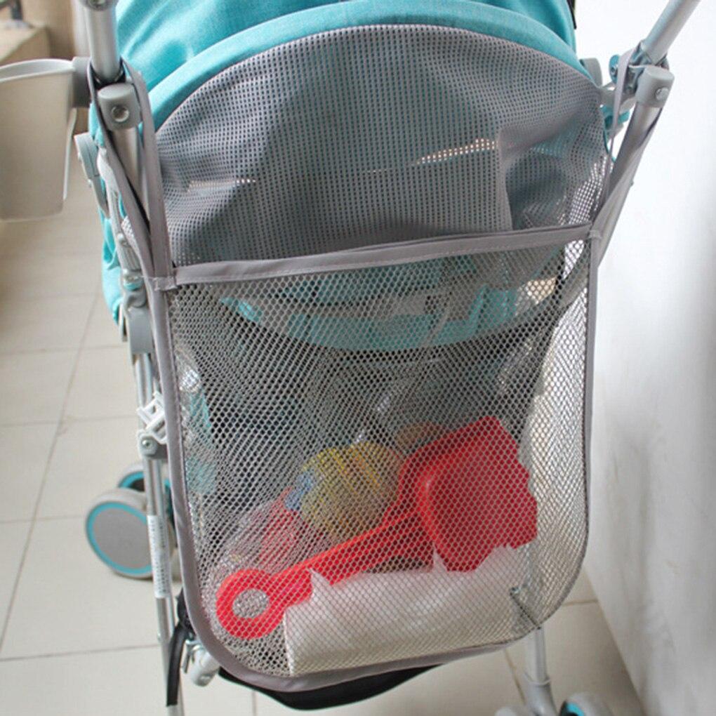 1/2pcs Baby Stroller Accessories Pushchair Pram Mesh Bag Baby Stroller Mesh Bag Baby Outdoor Baby Infant Stroller Accessories stroller 1 baby
