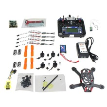 F16895-C DIY FPV Drone CC3D 150mm Mini RC Quadopter 3100KV Motor BLHeli + OPTO 16A ESC +6CH Transmitter +1000MAH Battery