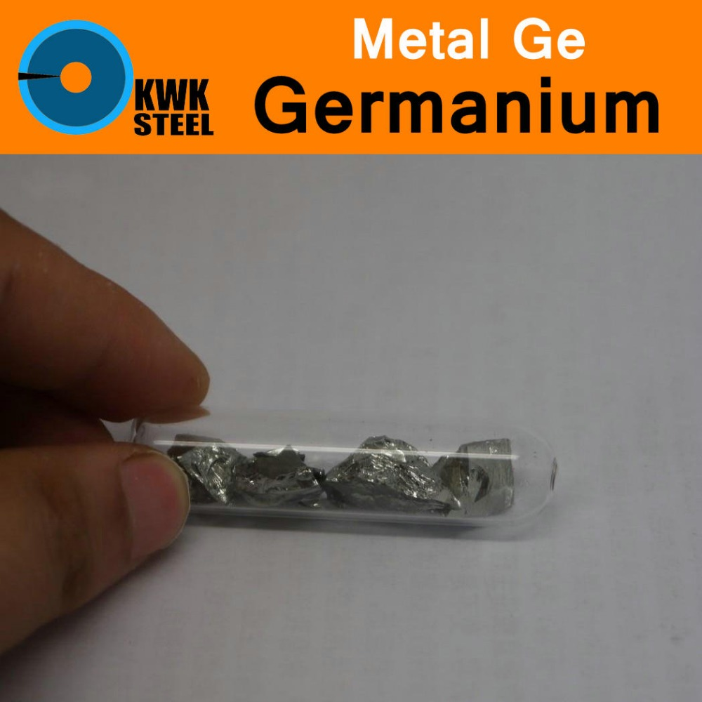 Ge Germanium Raw Material Bulk Pure 99.999% Periodic Table of Rare-earth Metal Elements for Research Study Education Collection inhibitor adsorption and thermodynamic study of metal corrosion
