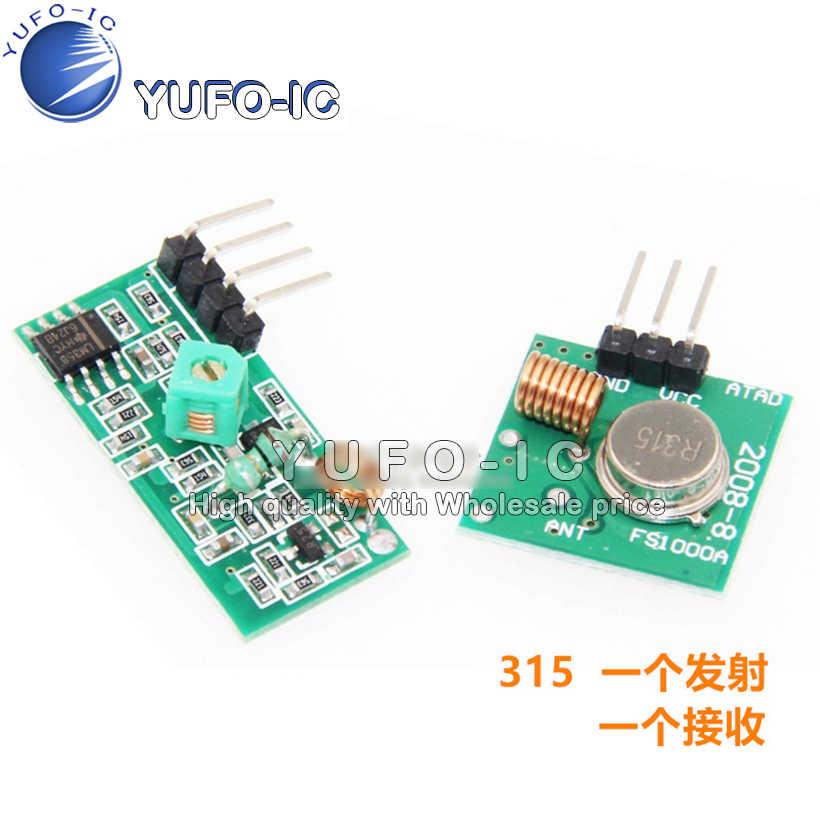 315 M Super-Regeneratif Modul 315 Frekuensi Transmisi Nirkabel Modul Anti-Pencurian Alarm Transmitter Receiver