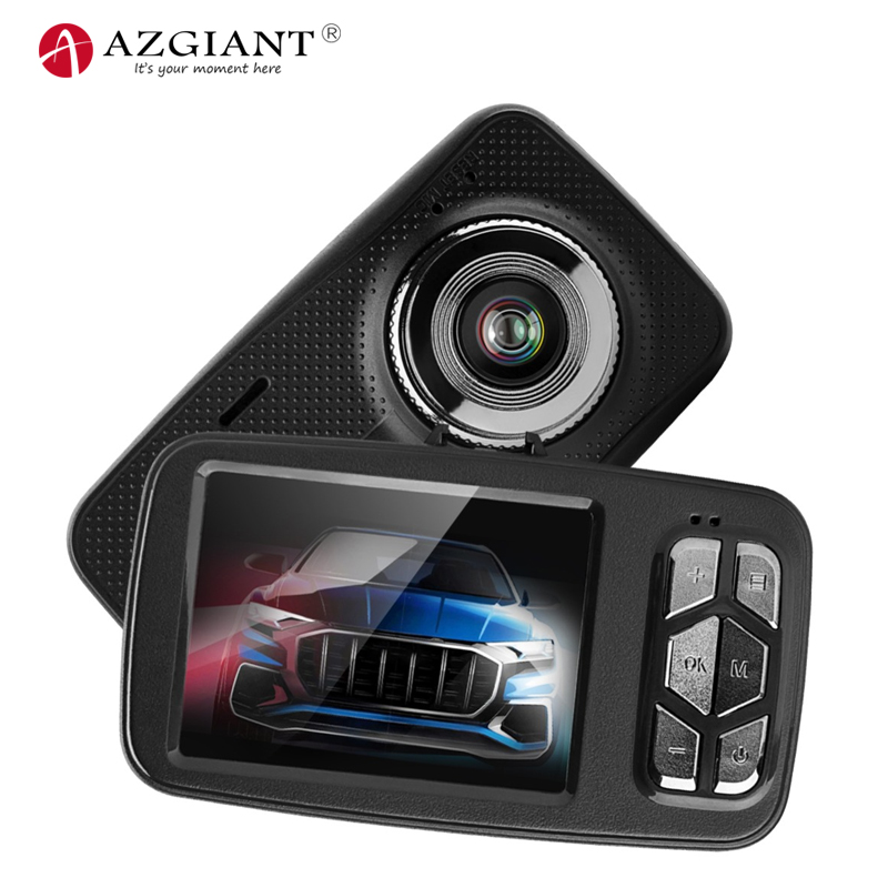 AZGIANT Vehicle Camera Car Dvr Parking-Recorder Dash-Cam G-Sensor Dual-Lens Mini 1080P