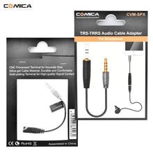 CoMica Weibliche 3,5mm Audio Kabel Converter Mikrofon Kabel Adapter für Iphone/Ipad/Samsung/Huawei Smartphone TRS TRRS adapter