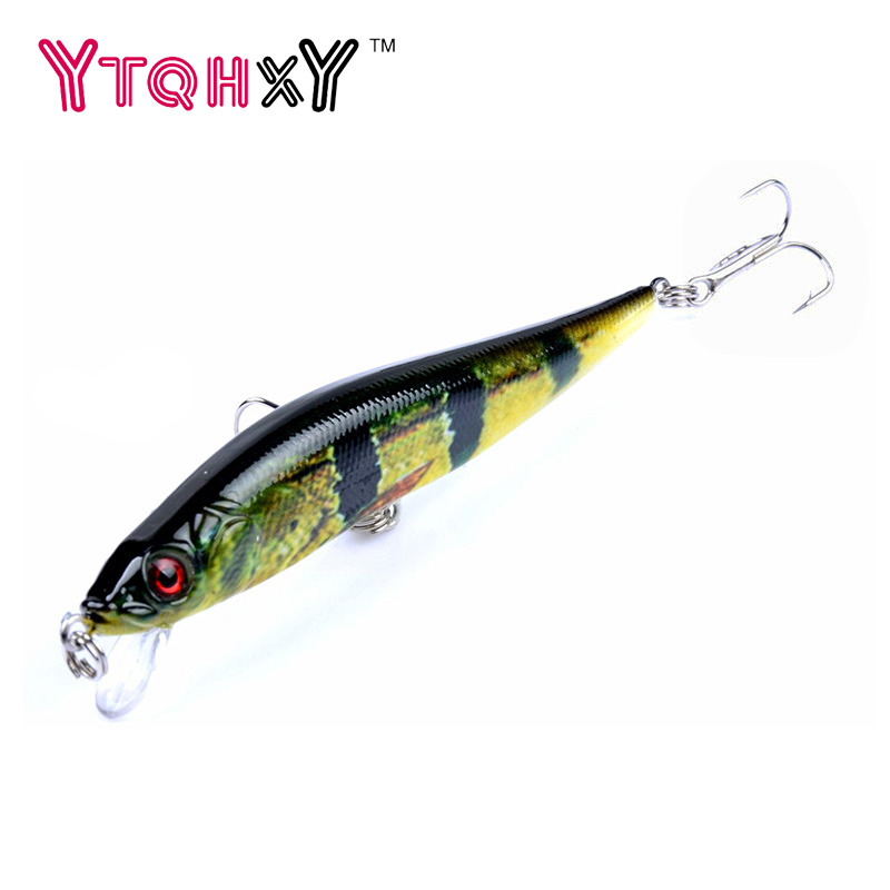 1pcs 10cm 10g Isca Artificial Hard Bait Pesca lifelike Minnow Fishing lures wobbler crankbait 6# hook 3D eyes YE-358 1 5 4m 10 5g 11cm hard bait minnow fishing lures crankbait wobbler depth dive bass fresh salt water 4 hook