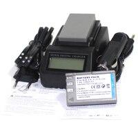 1250mAh Digital 2pcs EN EL9 EN EL9A LI ION Camera Battery+LCD Fast Charger For Nikon D3000 D40 D40x D5000 D60