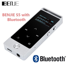 Newest Version Original Touch Screen Bluetooth MP3 Player 8GB BENJIE S5B  Entry-level Lossless Music Player with FM Radio