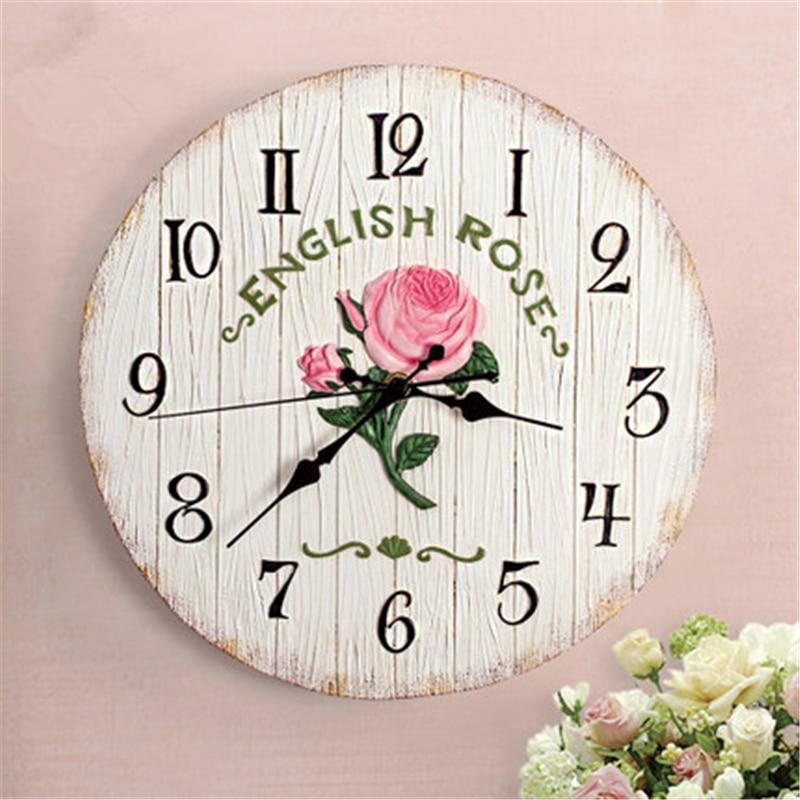 oversize design wall clock roman numerals kids vintage horloge murale geometric design silent plastic wall clock