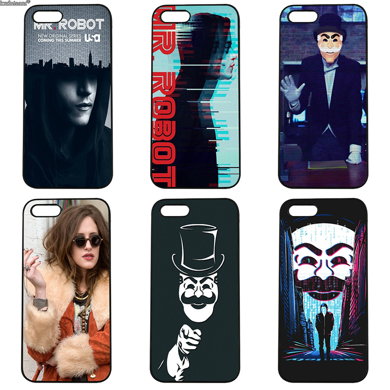 Mr.Robot TV Series Top Detailed Popular Hard PC Cases Cover for iphone 8 7 6 6S Plus X 5S 5C 5 SE 4 4S iPod Touch 4 5 6 Shell