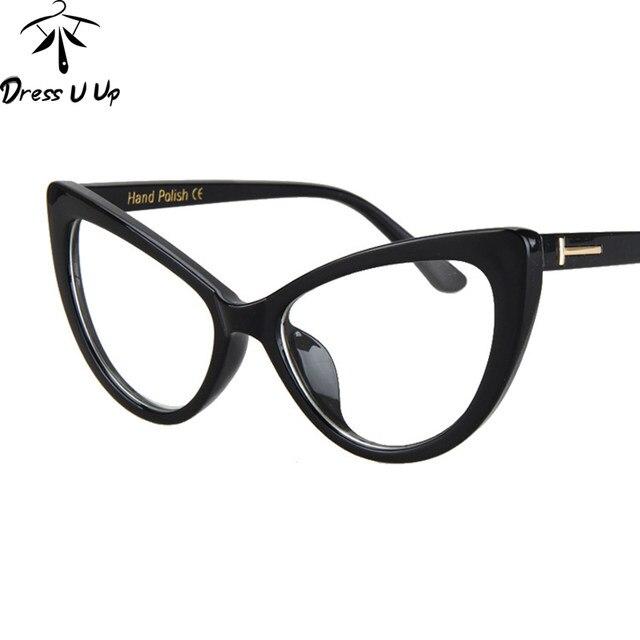 Online Shop DRESSUUP Mix Rose Gold Glasses Frame Women Eyeglasses ...
