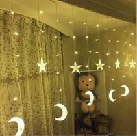 2.5M LED Holiday Lighting Christmas Decorative xmas Curtain String Fairy Garlands Party Wedding Light US110 EU220v free shipping