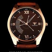 YAZOLE 2016 Montre-Bracelet Hommes Montres Top Marque De Luxe Célèbre Montre-Bracelet Homme Horloge À Quartz Montre À Quartz-montre Relogio Masculino