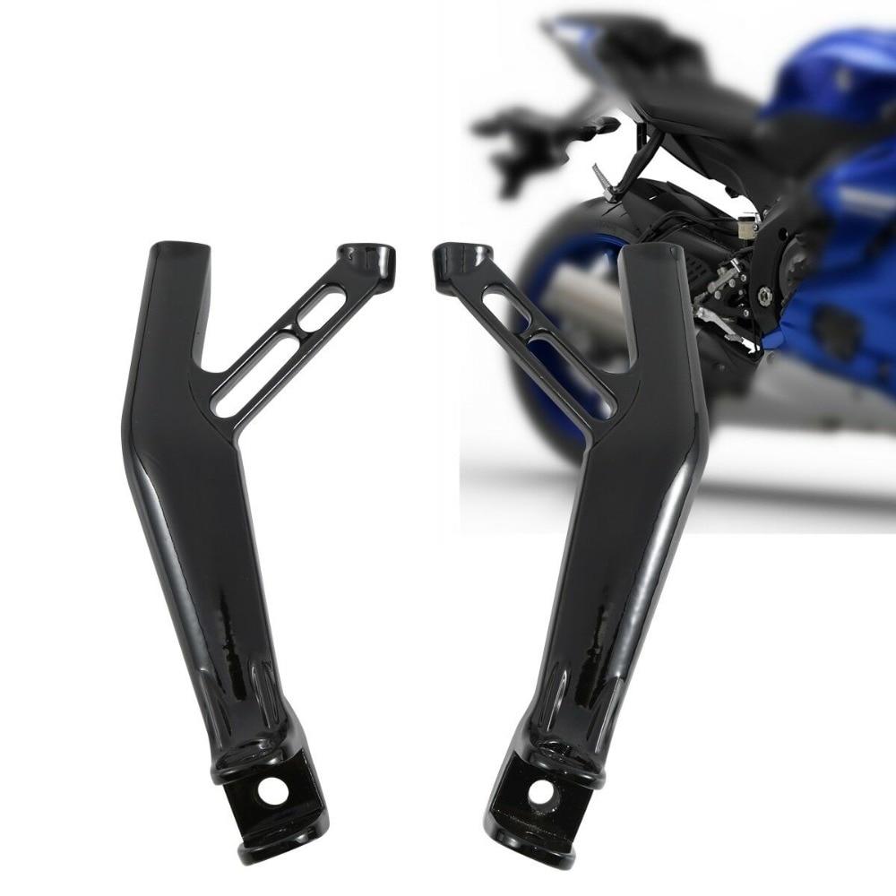 Motorcycle Rear Footrest FootPeg Bracket Set For Yamaha YZFR1 YZF R1S R1M 15-18 2016 2017