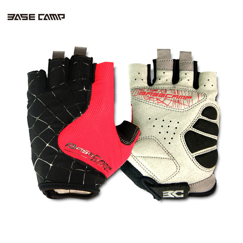 New Men&Women's Cycling Gloves Half Finger Bike bicycle Anti-Slip Breathable Riding Sport Short gloves Guantes Ciclismo 5 colors longkeeper cycling gloves full finger mens sports breathable anti slip mountain bike bicycle gloves guantes ciclismo
