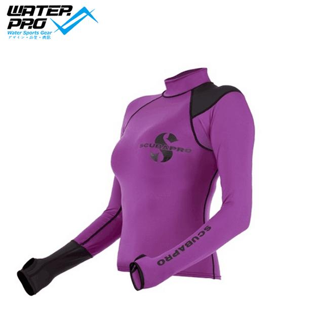 Scubapro Hybrid RASHGUARD LONG SLEEVES LADY UPF50 for Water Sports snorkeling scuba diving