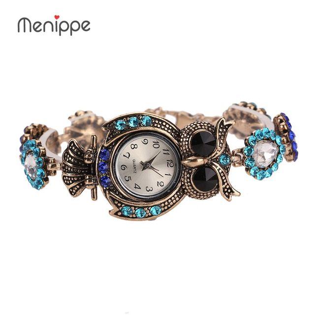 Shiny Diamond Bracelet Watches