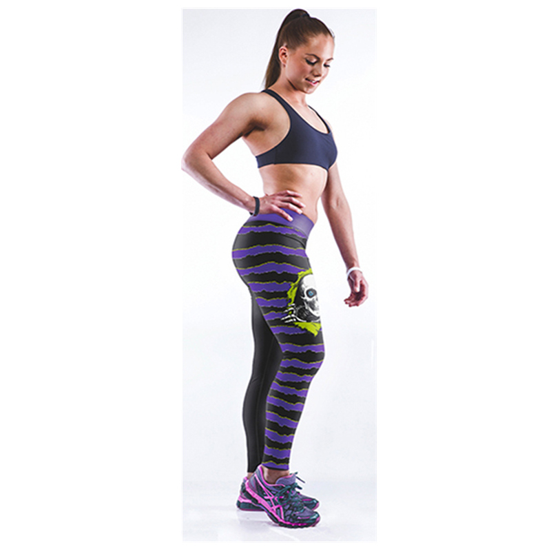 New! Favourite! Summer Style Printed Legging Joggers Finess Women Sexy Leggings Harajuku Workout Casual Pants