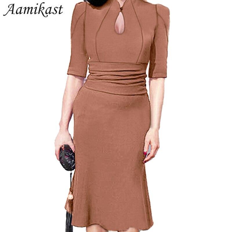 H ljubičasta ženska haljina Midi ispupčena večernja zabava - Ženska odjeća - Foto 5