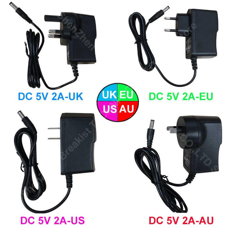 X96/KM9/MAX+/MAX X2/TX6/TX3 MINI Adapter For Android TV BOX AC-DC Power Charger 5V/2A UK EU AU US Plug AC Plug