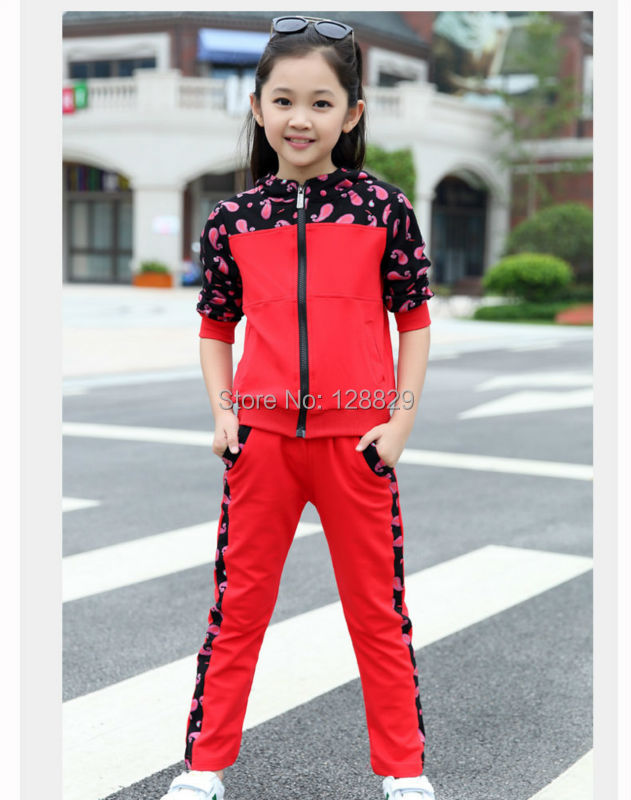 Girls Sports Suits (6)