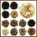 Free shipping 1PC Hair buns cute hair bun, Bun Hair Chignon , Donut Roller Hairpieces, hair pad  100% high temperature silk