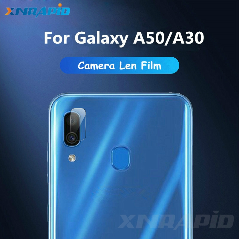 Screen protector rear camera lens toughened glass for samsung galaxy a50 a30 protective film for samsung a50 a30 protective in Phone Screen Protectors from Cellphones Telecommunications