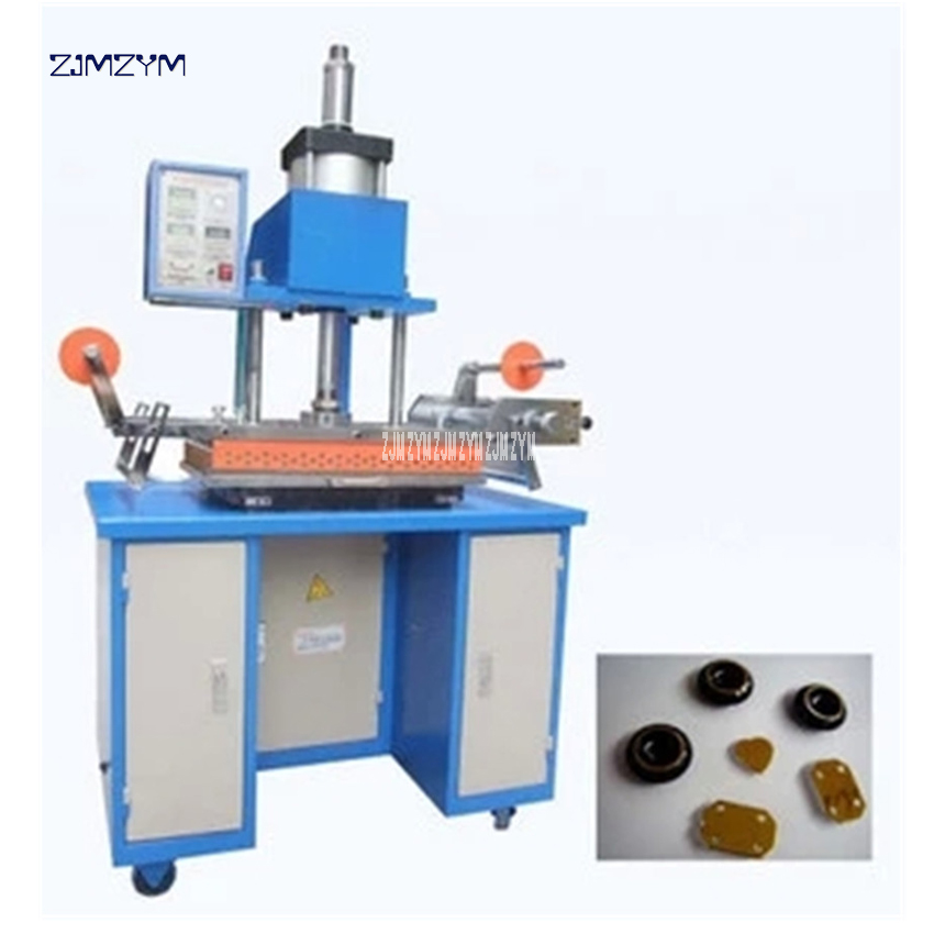 JD350 Hot Foil Stamping Machine Pneumatic Bronzing Machine for PVC Card leather and paper embossing stamping machine 350*500mm gilding press bronzing hot foil stamping machine