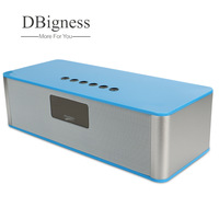 Dbigness Bluetooth Speaker Wireless Portable with LED Display Support UBS TF FM AUX MP3 Stereo Speaker for iPhone Samsung Xiaomi