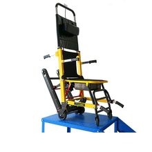 Folding Electric climbing wheelchair up and down the stairs crawler electric stair climber wheelchair