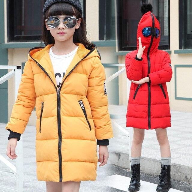 f7ebfb37f Navidad los niños encapuchados abrigos chica chaqueta de abrigo para niñas  otoño invierno ropa de abrigo