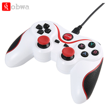 T3 Wireless Bluetooth Gamepad Gaming Controller with Handle Mount for Android Smartphone Smart TV , S600 Television Set-Top Box
