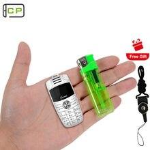 Taiml x6 celular pequeno desbloqueado, chave de carro com bluetooth, discador celular quad band duplo, sim, mp3, mudança de voz, celular telefone móvel