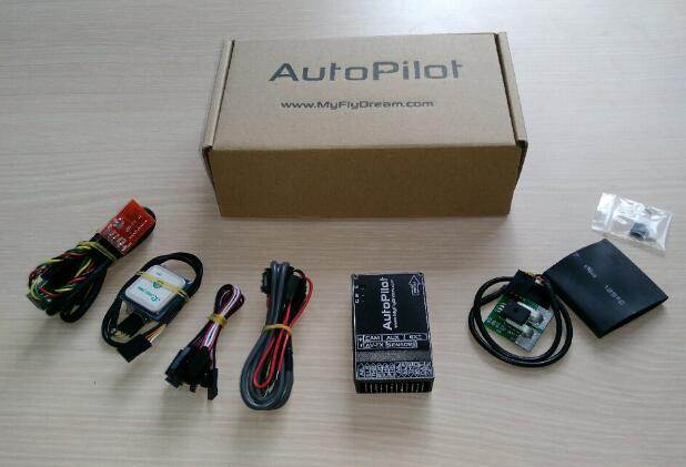 MyFlyDream Autopilot OSD Flight Stablizer with 100A Current Sensor w/ Airspeed