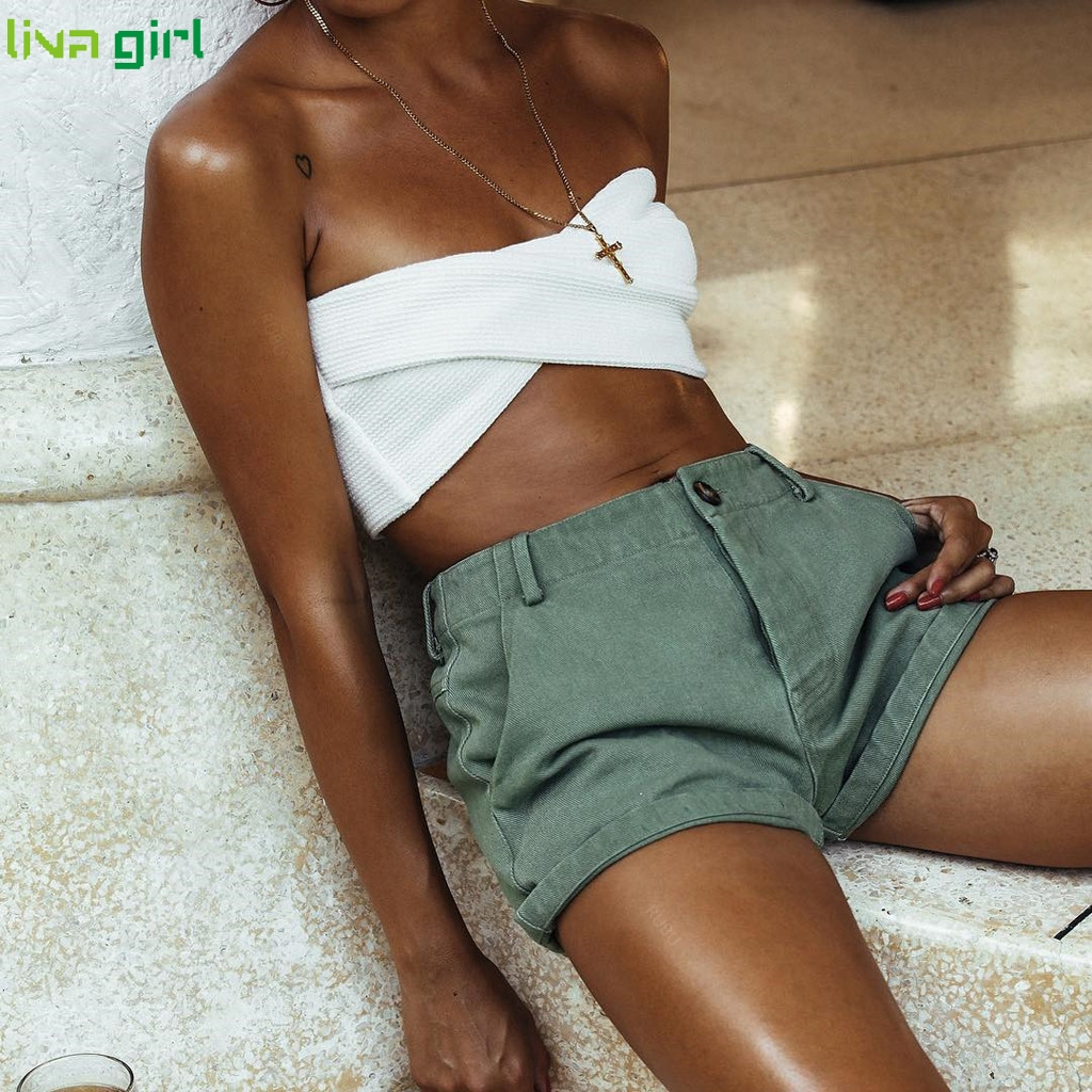 Liva girl Solid Bikinis Set Sexy New Swimsuit Push Up Bikini White Bathing Suits Brazilian Girls Swim Female Swimwear  D0813 3
