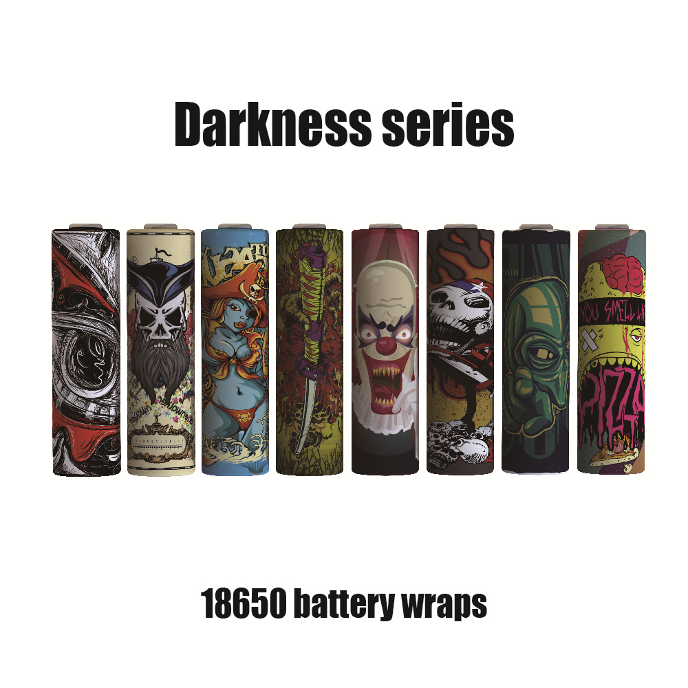 18650-Battery-Sticker-Battery-Wrap-Protective-Skin-for-18650-Battery-Darkness-Series-Electronic-Cigarette-Accessories