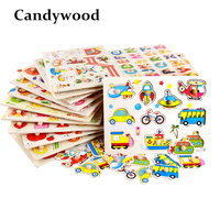 Candywood Baby Hand Grasp Wooden Puzzle Toy Alphabet And Digit Learning Education Child Jigsaw Toy Kid