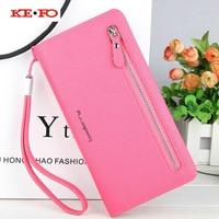 Zipper Purse Women Wallet Leather Case For Sony Xperia L1 Wallet Case For Sony Xperia XA
