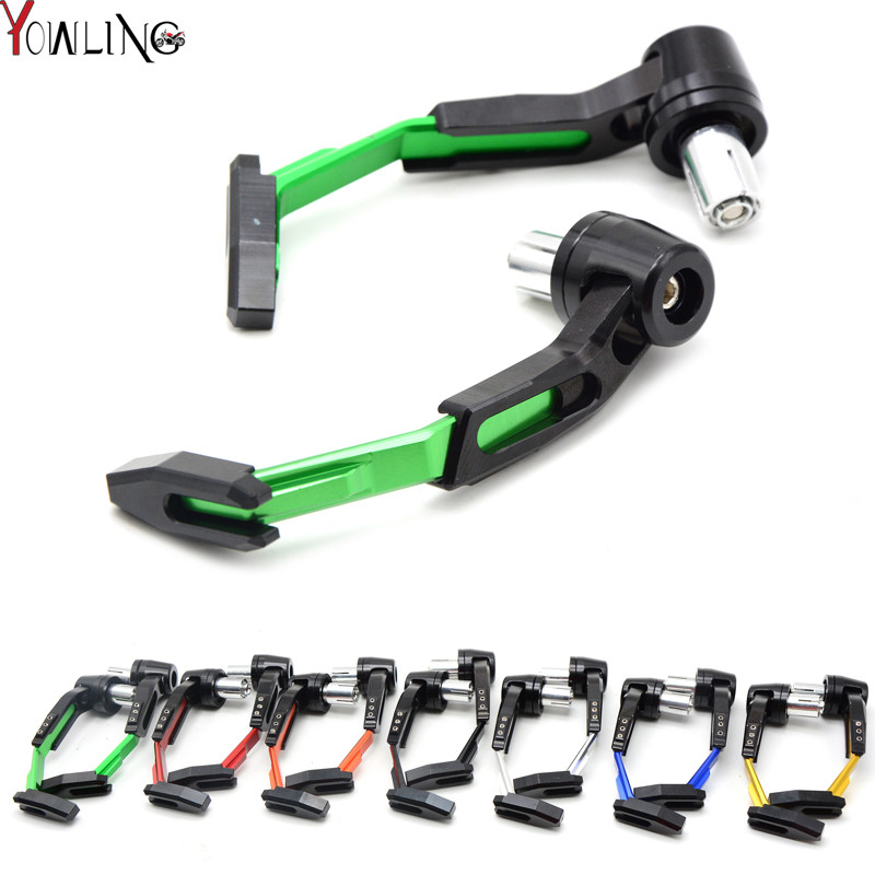 Aluminum Universal 7/8 22mm Motorcycle Proguard System Brake Clutch Levers Protect Guard for kawasaki z1000 yamaha FJR1300 aluminum universal 7 8 22mm motorcycle proguard system brake clutch levers protect guard for kawasaki z900 z650