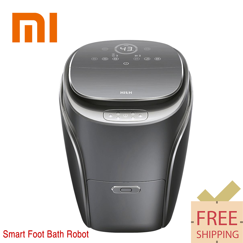Original Xiaomi HITH S1 Smart Foot Bath Robot Comfortable 3D massage 35CM deep barrel foot bath Triple security цена