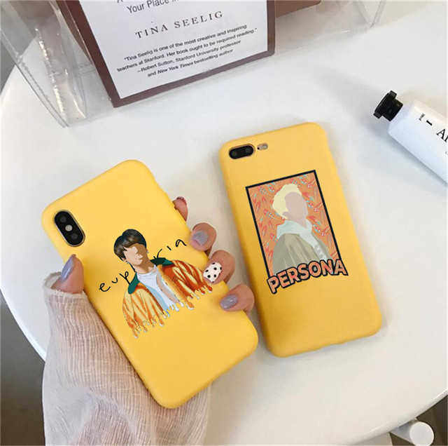 BTS THEMED IPHONE CASE (24 VARIAN)