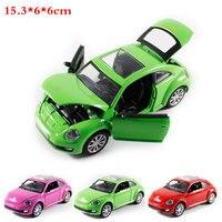 1 32 High Simulation Pull Back Model Toy Model Sports Car Beetle Vehicle Model Alloy Car