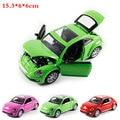 1:32 Alta Simulación Tire volver Juguete Modelo de Vehículo Modelo Escarabajo coche Deportivo Modelo de Aleación de juguetes Modelo de Coche para niños