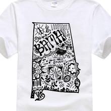 55dfc568 Funny T Shirts Men Summer Shirt Cotton T Shirt Plus Size 2017 Hipster  Alabama Zentangle Art