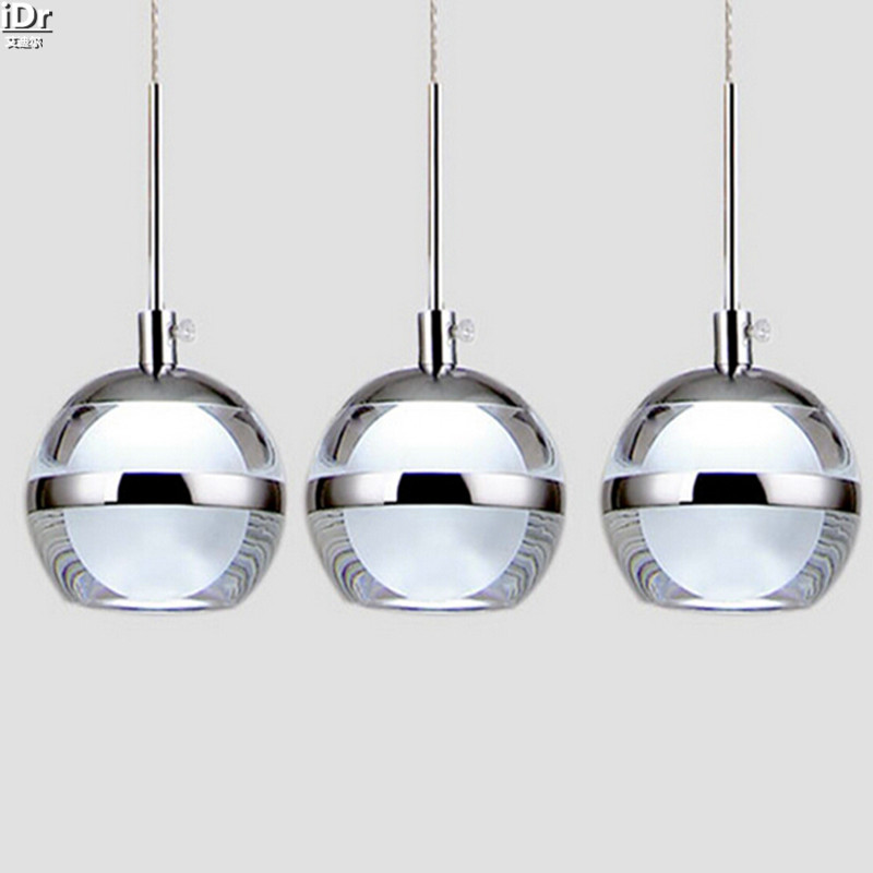 led ceiling creative acrylic bowl restaurant dining room lights bar round apple pendant lights rmy cheap dining room lighting