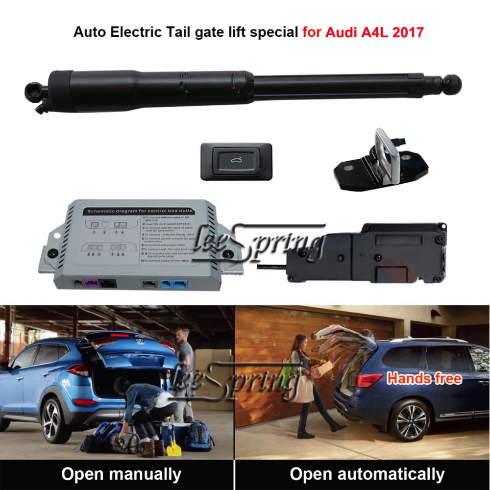 Smart Auto Electric Tail Gate Lift Special For Audi A4L 2017