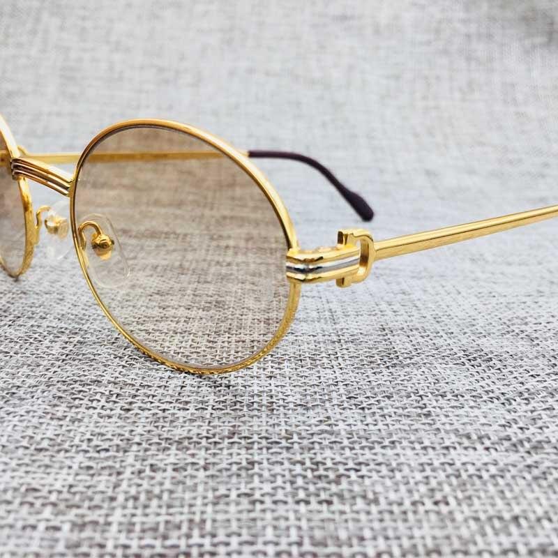 Rétro de luxe lunettes de soleil hommes lunettes de soleil marque designer carter lunettes lunettes cadres eye verre remplissez prescription vintage