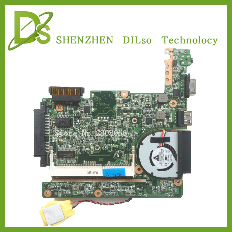 For ASUS Eee PC 1015p laptop motherboard with N550 cpu 1015PEM mainboard rev1.3G (BT3/USB2.0) 100% tested eee pc 1225b motherboard for asus laptop mainboard fully tested