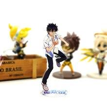 Buy Love Thank You Toaru Majutsu no Index Kamijou Touma acrylic stand figure model plate holder cake topper anime japanese directly from merchant!